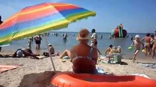 Бердянский пляж  Лиски