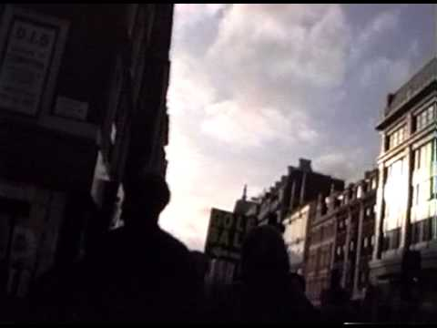 DJN Attempting to walk a Straight Line along Oxford Street (After Richard Long).1997