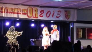 MVI 4012  14 juillet 2013 : Roncq : Chantal Goya : 2ème couac sur J