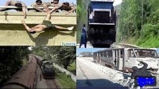 Lucky People alive Compilation escaping death inches - AMAZING!!