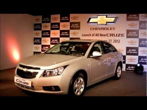 New Chevrolet Cruze 2012 India Exteriors And Interiors Walk Around Review