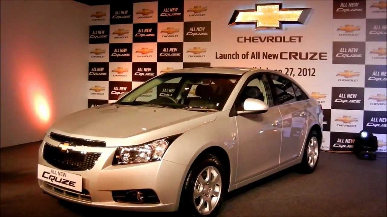 New Chevrolet Cruze 2012 India Exteriors And Interiors Walk Around