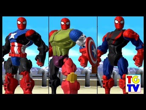 Marvel Super Hero Mashers Spider-Man (Battles Edited) | Mix + Smash