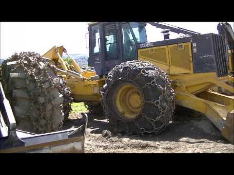 Brandt Tractor Kamloops,BC Yard-John Deere
