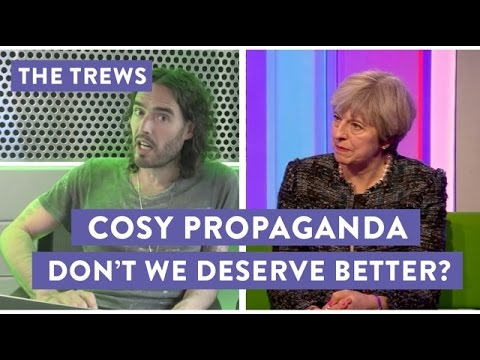Cosy Propaganda - Don't We Deserve Better? Russell Brand The Trews (E421)
