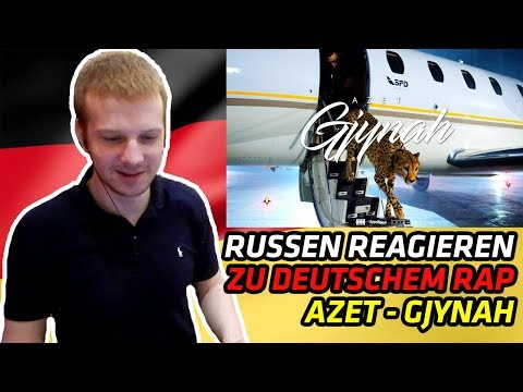 RUSSIANS REACT TO GERMAN RAP | AZET - GJYNAH (beat by Lucry) (Official 4K Video) | REACTION