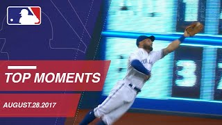 Pillar's superman catch, nine moments around the Majors: 8/28/17