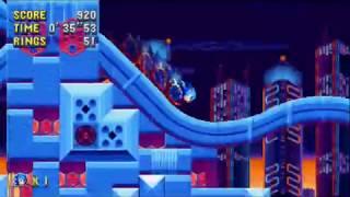 "Sonic Mania (PC)- Studiopolis 1 Sonic: 47""60 (Speed Run)"