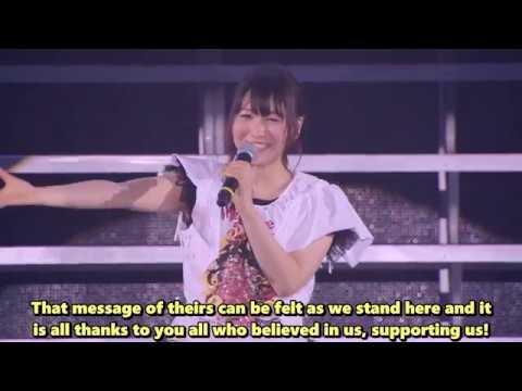 [Walkure 3rd Live] Yasuno Kiyono/Kaname Bucanneer MC Portion [Potastic Fansubs]