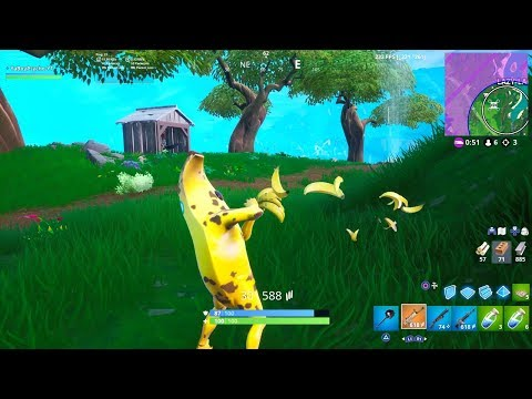 "*NEW* ""MAKE IT PLANTAIN"" EMOTE GAMEPLAY Showcase (BANANA EMOTE) 