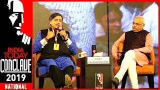 Exclusive : Shashi Tharoor Vs Vinay Sahasrabuddhe On Hinduism & Hindutva | India Today Conclave 2019