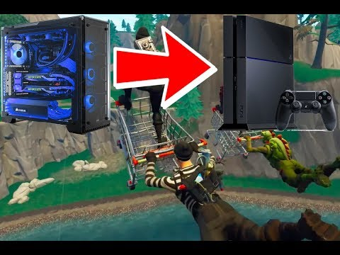 PC To PS4 - 7 Days Of Progression Video (FORTNITE)