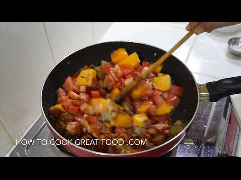 Indian Pumpkin Curry Recipe - Easy Vegan Mathanga Vegetarian Dairy Free Gluten Free