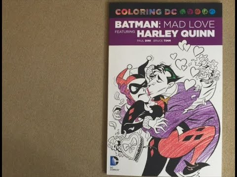 Coloring DC Harley Quinn In Batman Adventures Mad Love Dc Comics Book Flip Through