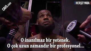 LeBron James ve Lue'nun Cedi'nin Atlanta maçı performansı hakkındaki övgü dolu sözleri -  ALTYAZILI