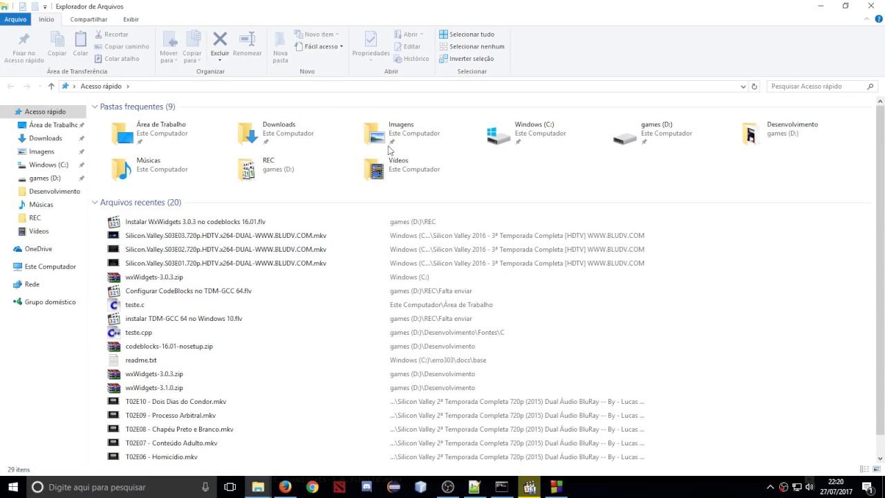 Instalar WxWidgets 3 0 3 no codeblocks 16 01 - Windows 10 - #2