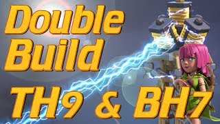 Clash Of Clans Double base Build   Builder Hall 7 and Max Town Hall 9   Clash Lets Play BH7 TH9
