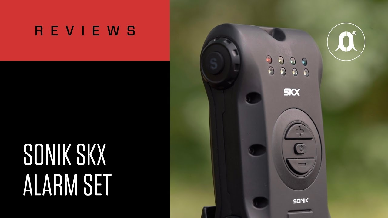 FREE Bivvy Light NEW Bite Alarm 3+1 Sonik SKX Alarm 3 Rod Set and Receiver