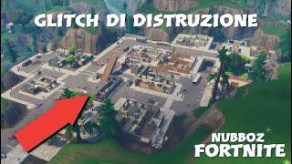 [PATCHEd] How to destroy EVERY building/building - GLITCH OF DISTRUZIONE - Fortnite