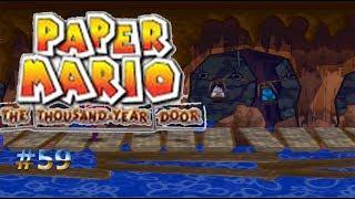 Explorando la cueva de los piratas/Paper Mario: La Puerta Milenaria #59