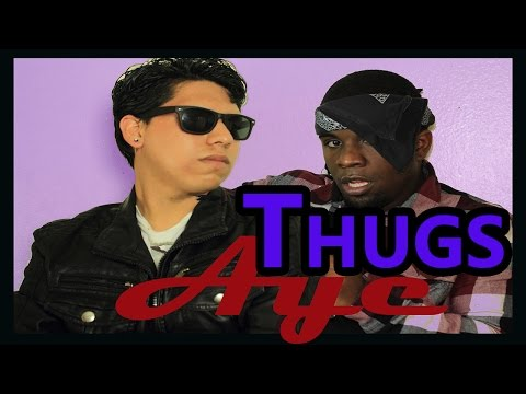 How thugs act in a interview