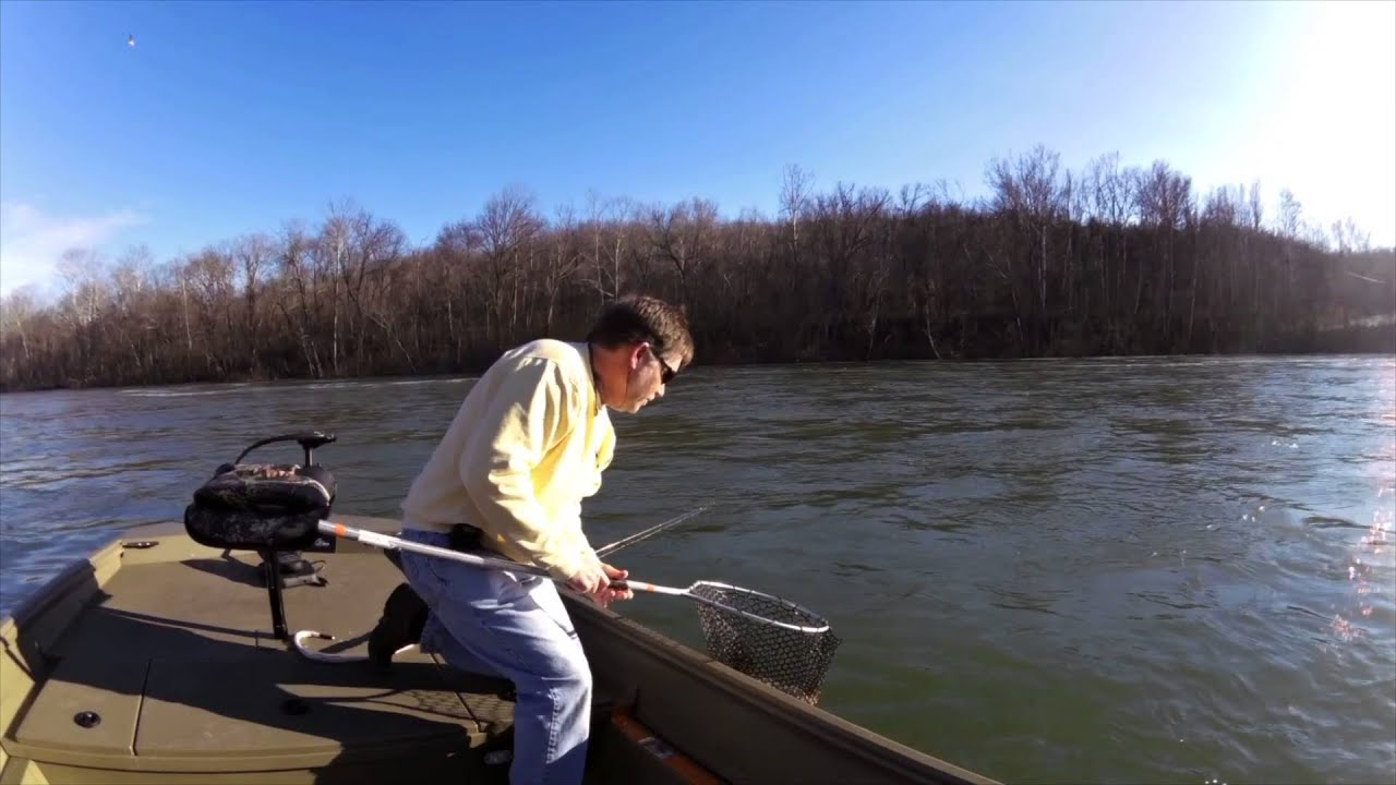 Lake taneycomo video fishing report january 13 2016 for Lake taneycomo fishing