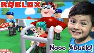 Grandma in Roblox New Escape from the Mad Grandmother Roblox games for kids