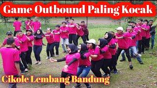 GAME OUTBOUND PALING SERU DAN KOCAK (CIKOLE LEMBANG BANDUNG)
