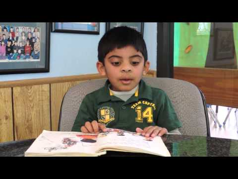 Our four-year olds can read! Oak Crest Private School