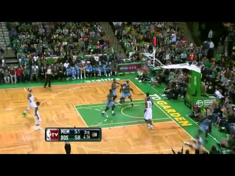 2011-12 Boston Celtics VS Memphis Grizzlies (Happy Superbowl!)