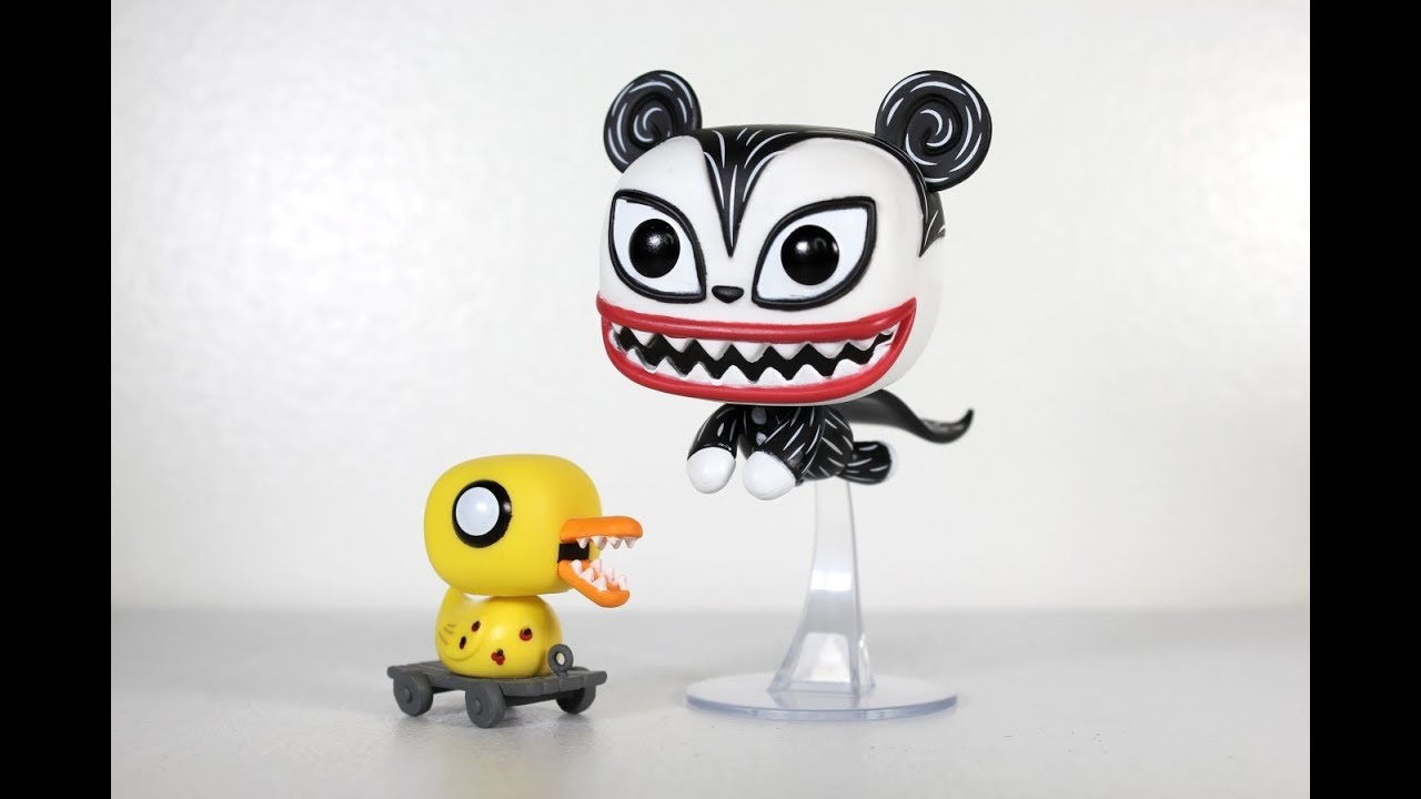 Nightmare Before Christmas VAMPIRE TEDDY with DUCK Funko Pop review ...