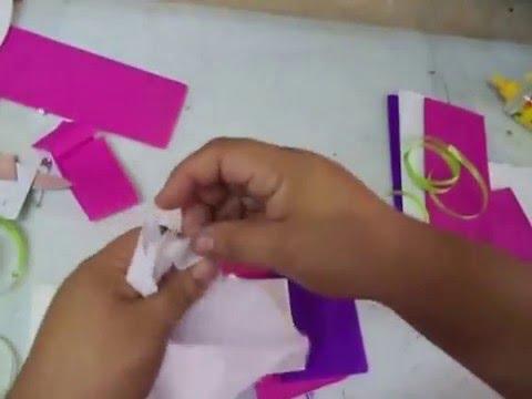 Como hacer trenza de papel crepe youtube - Videos de como hacer crepes ...