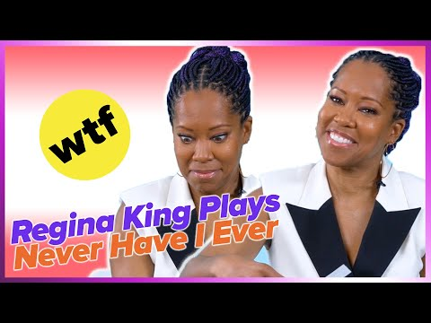 Regina King Plays Never Have I Ever