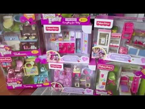 Fisher Price Loving Family Dollhouse Accessory Gift Set HAUL