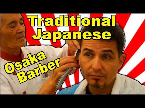 大阪 Traditional Barber from Osaka