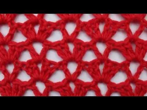 mesh lace stitch - pattern 8