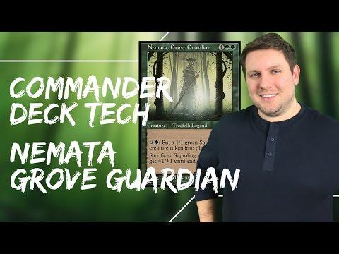 MTG Commander Deck Tech - Nemata, Grove Guardian
