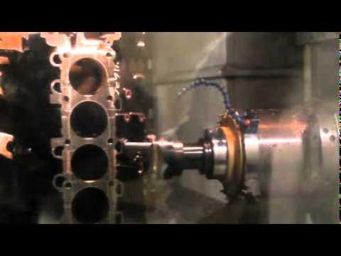 Machining CGI at 2000 sfm @ 350 ipm with Rotary Technologies Corp. Gen II mills