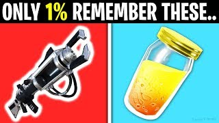 7 Things Only ORIGINAL Fortnite Players Remember!
