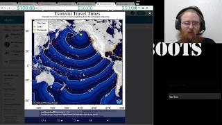 [news] Big Earthquake in Alaska & Tsunami Warning Part 1.