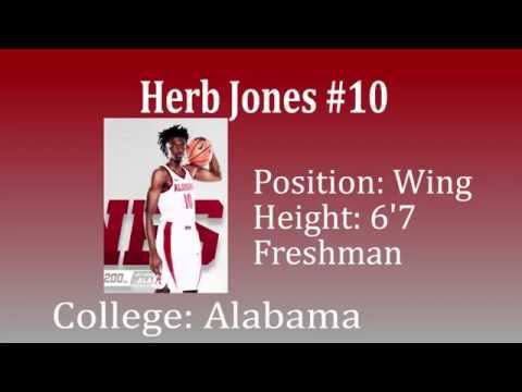 Herb Jones vs Texas and Alabama A&M Draft Video!!