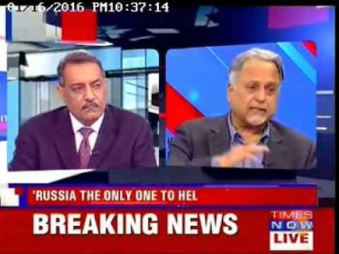 Times Now: Talk on Indo-Russia Defense ties featuring Bharat Karnad