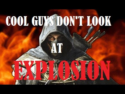 ESO PvP   COOL GUYS DON'T LOOK AT EXPLOSION - YouTube