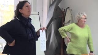 Des ateliers d'alphabétisation au centre social d'Avallon.