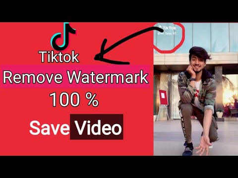 How To Remove Watermark For Tiktok||Hide Tiktok Lobo|| Please Check My Description