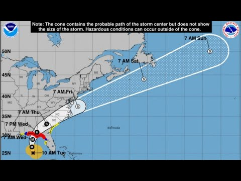 Hurricane Michael is now a Cat 2 storm