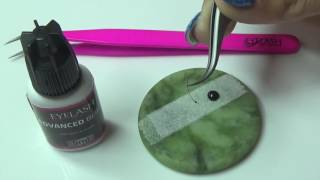 CORRECT GLUE/ADHESIVE DIPPING FOR EYELASH EXTENSIONS