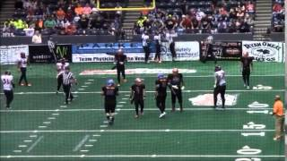 Mike Maldonado DB Rookie Season Arena Football Highlights
