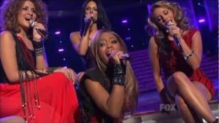 (HD) Top 13 Girls Beyoncé Medley - Idol Finale (5.25.11)