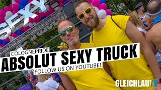 ABSOLUT SEXY Truck at ColognePride 2019